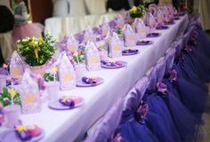 Decoración de Rapunzel para fiestas http://tutusparafiestas.com/decoracion-rapunzel-fiestas/