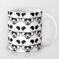 Füsss Gözlüklü Panda Porselen Kupa bardak ifk-101/017. 261794 | zet.com