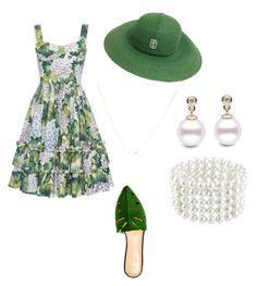 """""""bye bye spring"""" by mcounce on Polyvore featuring Giambattista Valli, Charlotte Olympia, Emilio Pucci and Astoria"""