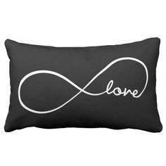 Infinity Love Throw Pillows