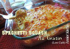 Spaghetti Squash Au Gratin (Low Carb)
