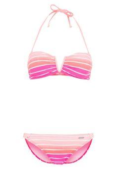 Venice Beach Bikini pink striped für Damen -