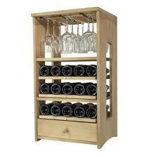 Resultado de imagen para imágenes muebles de madera para colgar copas y vasos