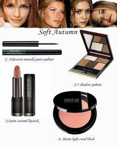 Ann Robia Fashion: makeup for soft Autumn #beauty #olsen_twins #misha_barton