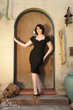 Mary Ann Dress in Black