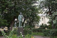 Moscow. Herzen House (Mikhail Bulgakov's Griboyedov) With Mikhail Bulgakov in The Master and Margarita. (The Jeremy Nicholl Archive)