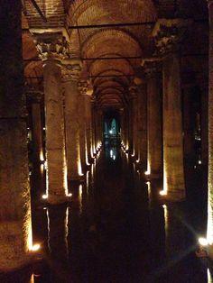 Basilica Cistern, Istanbul Turkry