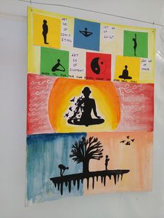 YOGA for healthy body and mind Yoga Drawing, Yoga For All, All Poster, Poster Making, Making Ideas, Creative Ideas, Art Drawings, Arts And Crafts, Healthy