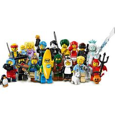 Complete Set of 16 ~ New Sealed LEGO Series 16 MINI FIGURES #71013 #LEGO