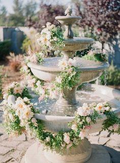 Carats & Cake Rose Wedding, Spring Wedding, Garden Wedding, Floral Wedding, Wedding Flowers, Dream Wedding, Floral Arch, Glamorous Wedding, Reception Decorations