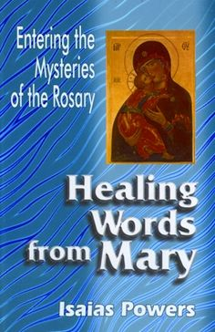 Healing Words from Mary:- Healing Words from Mary is for all us who need a leistering ear and consoling words. It is a prayer conversation with Mary. Weather we pray the rosary or not, these mysteries need to be pondered, not in fifteen minutes flat, but over a life time. Rs.35