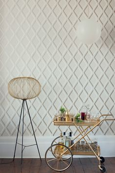 Buy Cole & Son Contemporary Restyled Pompeian Wallpaper online with Houseology's Price Promise. Full Cole & Son collection with UK & International shipping. Cole And Son Wallpaper, Of Wallpaper, Designer Wallpaper, Bedroom Wallpaper, Original Wallpaper, Wallpaper Ideas, Vintage Bar Carts, Trellis Wallpaper, Trellis Design
