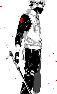 Kakashi Hatake, favorite Naruto character, maybe... Him or gaara or shikimaru