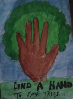 Lend a hand to save trees