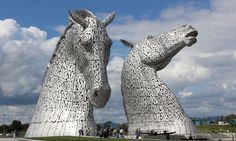 They symbolise Scotland's famous virtues of strength and endurance, but for more than 50 million people who catch sight of the Kelpies each year, there will be another justification to visit the ar…