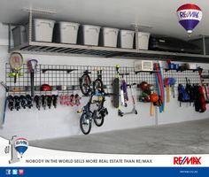 Here are some useful tips on how to organise your garage: Read more: http://bit.ly/29a6jQi  #Tips&Tricks