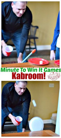 Awesome Minute To Win It Games that are Great for Kids, Teens and Adults – For Your Family Parties! – Perfect for Holiday parties, like Christmas, Thanksgiving, Halloween and even Summer Parties – www. Christmas Games For Adults Holiday Parties, Halloween Games Adults, Holiday Party Games, Adult Party Games, Halloween Party Games, Birthday Party Games, Adult Games, Sleepover Party, Kids Christmas