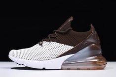 "promo code d1c0d 04801 Nike Air Max 270 Flyknit ""Dark Hazel"" Light Bone White-Dark Hazel AO1023-002"