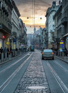 The architecture of Lviv, known as cultural capital of Ukraine, reflects many European styles of different historical epochs