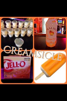 Creamsicle Pudding S