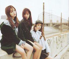 Eunji, Namjoo, and Chorong