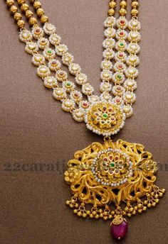 Jewellery Designs: Latest and Fancy Gold Layers Set