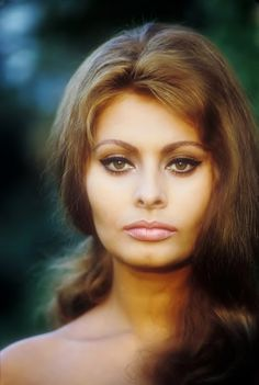 "Technicolor Tuesday"": Sophia Loren - actress - born 09/20/1934  Rome, Lazio, Italy Sophia is just too beautiful not to post somewhere."