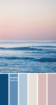 Blue and Mauve Colour Scheme – Colour Palette #100