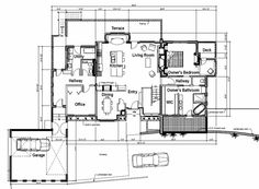 Main Floor- Great layout for the down slope lot. Good mix of indoor/outdoor spaces.