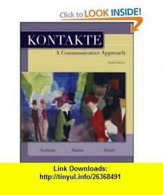 79 best education and reference images on pinterest bestseller kontakte a communicative approach student edition 9780073535333 erwin tschirner brigitte nikolai fandeluxe Image collections