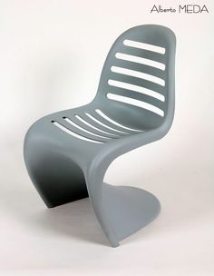 Panton Chair revisited by Alberto Meda