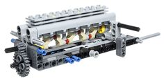 LEGO Technic Building Tip - Internal Combustion Inline Engine - ICHIBAN Toys