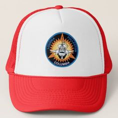 #STS-3 PATCH COLUMBIA TRUCKER HAT - #travel #trip #journey #tour #voyage #vacationtrip #vaction #traveling #travelling #gifts #giftideas #idea