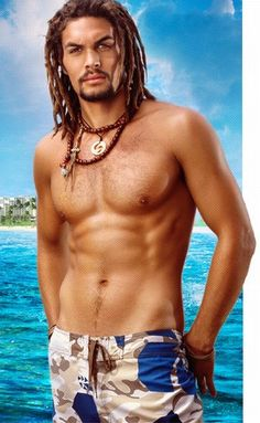 "Oh, how yummy is Jason Momoa? And I have to say, the body is rockin' but I think it's those eyes that get me. He's my ""up and comer"" on the list. He got my attention on ""Game of Thrones"" (please let those rumors be true that he will be coming back) and had me drooling in ""Conan"".  Dead sexy. That's all I have to say about that."