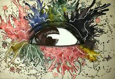 Quién viene#tinta acrílica