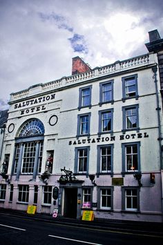 Salutation Hotel, Perth Scotland.  The oldest hotel in Scotland 1699.  Bonnie Prince Charlie slept here.