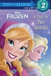 Disney Frozen Storybook – A Tale of Two Sisters (Step into Reading) #disneyfrozen #disneyfrozenelsa #disneyfrozenanna