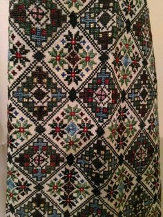 Ukraine, from Iryna Blackwork Embroidery, Folk Embroidery, Cross Stitch Embroidery, Embroidery Patterns, Cross Stitch Patterns, Medieval Embroidery, Palestinian Embroidery, Inkle Weaving, Ukraine