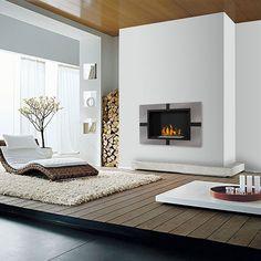 Cheminee ethanol Quattro XL : Wikao, design et maison
