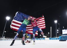 Team USA's Women Just Won America's First-Ever Gold Medal in Cross-Country Skiing in Shocking Upset