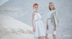 Editorial with new collection of Agnieszka Swiatly dresses. models Krysia Ksiezyk Monika Wsolak SPP Models mua Jola Boska retouch Krysia Księżyk www.makiela.com #fashion #sand #desert #makiela #fashion_session #advertising