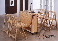 drop leaf dining table and chairs - Drop Leaf Round Kitchen Table