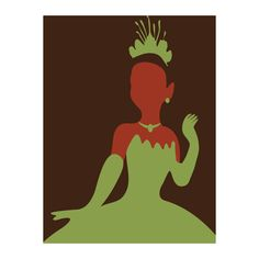 {Tiana - Minimalist Art Print Adrian Mentus} New all time favorite movie ♡ Disney Princess Paintings, Princess Wall Art, Disney Princess Tiana, Disney Paintings, Arte Disney, Disney Art, Disney Minimalist, Minimalist Poster, Minimalist Art