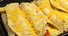 Ik ben zelf dol op burrito's, lekkere tortilla's, vlees, groente en veel kaas.