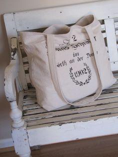 German Grain Sack Bag Tote