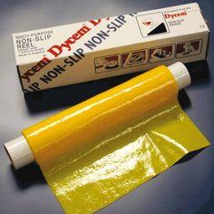 ROULEAU ANTI-GLISSE - JAUNE 40 X 200 CM DL150  Rouleau de couleur jaune. Idéal pour le handicap visuel. Rouleau DYCEM dim 40 x 200 cm.