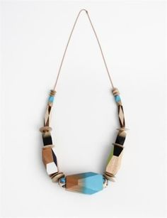 Bluma Project Go Big Necklace- Turquoise