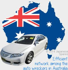 Efficient network among the auto wreckers in Australia