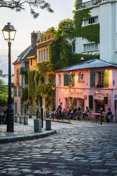 Montmartre in Paris, Île-de-France