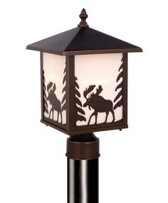 Yellowstone 8 in. Outdoor Post  Light